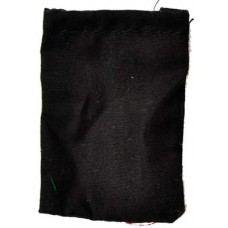Black Cotton bag 1 1/2