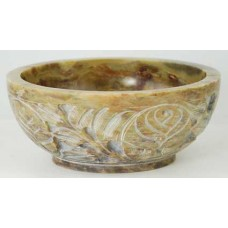Soapstone Scrying and smudge Bowl