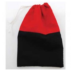 Reversing  Red & Black Cotton Bag
