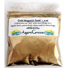 Gold Magnetic Sand (Lodestone Food)  4oz