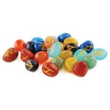 7 Chakra Rune Set