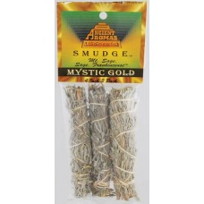Mystic Gold smudge stick 3pk 4