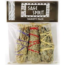 Variety smudge stick 3-Pack 5