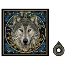 Lisa Parker Wolf talking board