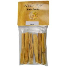 6 pack Palo Santo smudge sticks 3 1/2