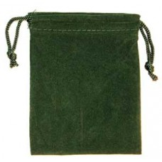 Green Velveteen Bag