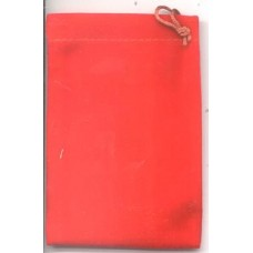 Red Velveteen Bag