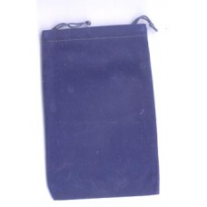 Blue Velveteen Bag