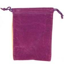 Purple Velveteen Bag