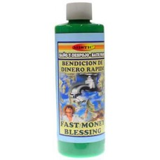 8oz Fast Money Blessing (Bendicion de Dinero Rapido) wash