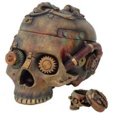 Steampunk Skull 7 1/2