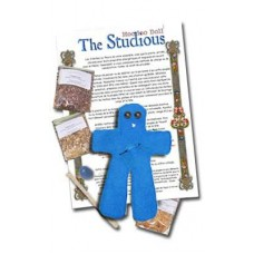 Studious hoodoo doll
