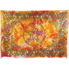 Pentagram Sarong/ Altar Cloth 44